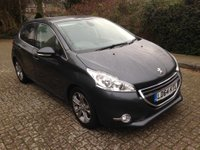 2014 PEUGEOT 208 1.6 ALLURE 5d AUTO 120 BHP ONE OWNER FULL SERVICE HISTORY  BLUETOOTH PARKING SENSORS 19K MILES £7999.00