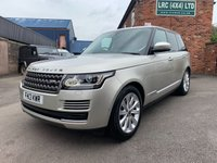 USED 2013 13 LAND ROVER RANGE ROVER 3.0 TDV6 VOGUE 5d AUTO 258 BHP BEAUTIFUL RANGE ROVER VOGUE
