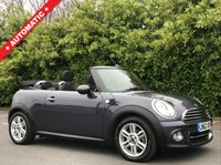 USED 2012 62 MINI CONVERTIBLE 1.6 COOPER 2d AUTO 122 BHP