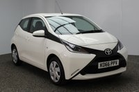 USED 2017 17 TOYOTA AYGO 1.0 VVT-I X-PLAY 5DR 69 BHP 1 OWNER FREE ROAD TAX FREE 12 MONTHS ROAD TAX + BLUETOOTH + MULTI FUNCTION WHEEL + CRUISE CONTROL + AIR CONDITIONING + DAB RADIO + ELECTRIC WINDOWS + ELECTRIC MIRRORS