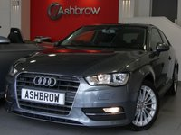 USED 2015 15 AUDI A3 2.0 TDI SPORT 3d 150 S/S £2760 OF OPTIONAL EXTRAS, FULL AUDI SERVICE HISTORY, £20 ROAD TAX (106 G/KM), UPGRADE SAT NAV, UPGRADE 17 INCH 15 SPOKE ALLOYS, UPGRADE PARKING SYSTEM REAR, UPGRADE CRUISE CONTROL, UPGRADE PRIVACY GLASS, UPGRADE COMFORT PACK INCLUDING LIGHT & RAIN SENSORS AUTO DIMMING REAR VIEW MIRROR & WINDSCREEN SUN BAND, DAB RADIO, BLUETOOTH PHONE & MUSIC STREAMING, AUDI MUSIC INTERFACE FOR IPOD / USB DEVICES (AMI), MANUAL 6 SPEED, DUAL CLIMATE CONTROL, TYRE PRESSURE MONITORING, LEATHER MFSW, SPORT SEATS