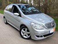 USED 2005 55 MERCEDES-BENZ B-CLASS 1.7 B170 SE 5d AUTO 114 BHP PARK ASSIST LEATHER SEATS ELECTRIC FOLD MIRRORS , FULL HISTORY