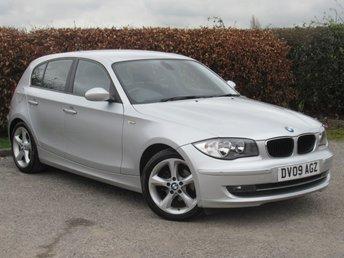 2009 BMW 1 SERIES 2.0 116D SPORT 5D £4500.00