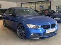 USED 2013 63 BMW 3 SERIES 2.0 328I M SPORT 4d AUTO 242 BHP M PERFORMANCE STYLING+RARE CAR