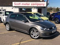 2016 VOLKSWAGEN GOLF 1.6 GT Edition TDI Bluemotion Tech 3 door Diesel £13299.00