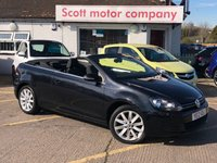2012 VOLKSWAGEN GOLF 2.0 SE TDI Bluemotion Tech Diesel Convertible £8299.00