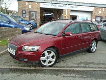 2004 VOLVO V50 2.4 SE 5d AUTO 170 BHP £1995.00