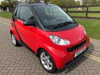 2010 SMART FORTWO CABRIO 0.8 PULSE CDI 2d AUTO 54 BHP £4000.00