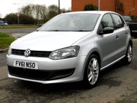 USED 2011 61 VOLKSWAGEN POLO 1.2 S 5dr (a/c) Lovely Small Car & S/History