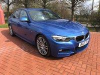 2013 BMW 3 SERIES 2.0 320D M SPORT 4d AUTO 181 BHP £13990.00