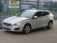 USED 2011 61 VOLVO V60 1.6 DRIVE SE S/S 5d Leather Bluetooth & audio