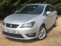 USED 2012 62 SEAT IBIZA 1.2 TSI FR SportCoupe 3dr £30 Road Tax,Low Ins Group&S/H