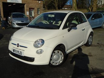 2011 FIAT 500 1.2 POP 3d 69 BHP £4250.00