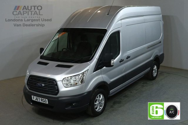 2017 67 FORD TRANSIT 2.0 350 L3 H3 130 BHP LWB H/ROOF TREND AIR CON EURO 6 VAN AIR CONDITIONING EURO 6 TREND