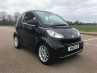 2011 SMART FORTWO 1.0 PASSION MHD 2d AUTO 71 BHP £4495.00