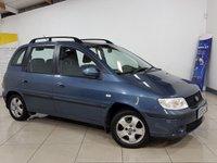 2006 HYUNDAI MATRIX 1.6 GSI 5d 102 BHP £1095.00