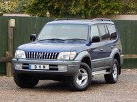 2002 TOYOTA LAND CRUISER 3.0 VX 8-SEATS D4-D 5d AUTO 161 BHP £3570.00