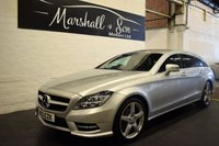 USED 2013 13 MERCEDES-BENZ CLS CLASS 2.1 CLS250 CDI BLUEEFFICIENCY AMG SPORT 5d AUTO 202 BHP STUNNING RARE SHOOTBRAKE - 6 SERVICES TO 59K - XENONS - POWERBOOT - NAV