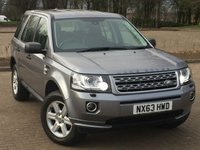 2013 LAND ROVER FREELANDER 2 2.2 TD4 GS 5d 150 BHP £12495.00