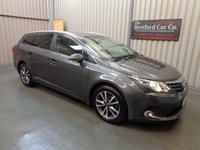 2014 TOYOTA AVENSIS 2.0 D-4D ICON BUSINESS EDITION 5d 124 BHP £8295.00
