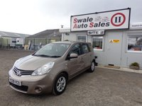 USED 2009 09 NISSAN NOTE 1.6 ACENTA 5 DOOR AUTO 110 BHP £24 PER WEEK, NO DEPOSIT - SEE FINANCE LINK
