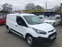 2014 FORD TRANSIT CONNECT 1.6 240 P/V 1d 94 BHP IN METALLIC WHITE WITH 25,000 MILES WITH NO VAT! £7299.00