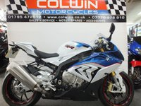 USED 2015 65 BMW S1000RR 999cc S 1000 RR 193 BHP ONE OWNER & ONLY 3,140 MILES!!