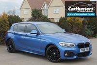 USED 2016 66 BMW 1 SERIES 1.5 116D M SPORT 5d AUTO 114 BHP SAT NAV BLACK PACK