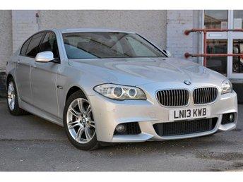 2013 BMW 5 SERIES 2.0 520D M SPORT 4d AUTO 181 BHP £11990.00
