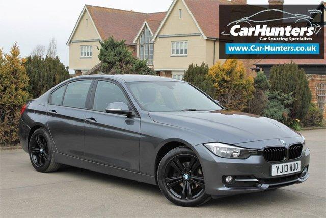 2013 13 BMW 3 SERIES 2.0 318D SPORT 4d AUTO 141 BHP