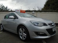 USED 2013 13 VAUXHALL ASTRA 1.6 SRI 5d 113 BHP GUARANTEED TO BEAT ANY 'WE BUY ANY CAR' VALUATION ON YOUR PART EXCHANGE