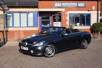 USED 2013 63 MERCEDES-BENZ E-CLASS 2.1 E250 CDI AMG SPORT 2d 204 BHP 2 Owners! Full Mercedes Service History! Air Scarf!