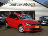 2014 VOLKSWAGEN POLO 1.2 MATCH EDITION 5d  £5990.00