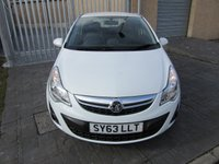 USED 2013 63 VAUXHALL CORSA 1.2 ENERGY AC 3d 83 BHP ONLY 19000 MILES GOOD VALUE