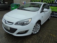 USED 2014 VAUXHALL ASTRA 2.0 ELITE CDTI 5d AUTO 163 BHP Excellent Condition, High Spec Model, Low Rate Finance with No Deposit Options, Great Medium Sized Automatic