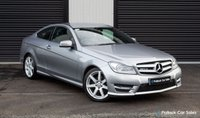 USED 2012 61 MERCEDES-BENZ C-CLASS  C220 CDI BLUEEFFICIENCY AMG SPORT AUTO, UNMARKED IMMACULATE CONDITION, FULL YEARS MOT