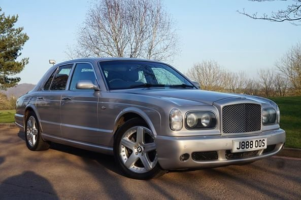 USED 2003 03 BENTLEY ARNAGE 6.8 T 4d AUTO 451 BHP GREAT MILEAGE ** FULLY LUXURIOUS ** IDEAL WEDDING CAR **