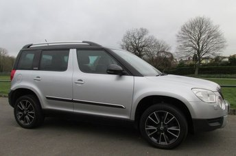 2013 SKODA YETI 2.0 ADVENTURE TDI CR 5d 109 BHP £5990.00