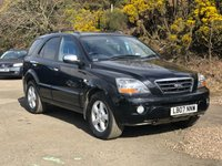 USED 2007 07 KIA SORENTO 2.5 XT 5d AUTO 168 BHP 2 PREVIOUS KEEPER *  LEATHER INTERIOR *  PRIVACY GLASS *  FULL YEAR MOT *  SUNROOF *  PARKING AID *