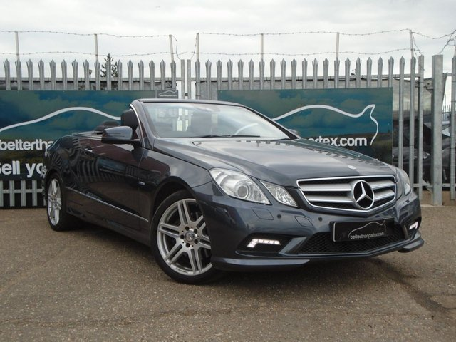 2010 60 MERCEDES-BENZ E-CLASS 3.0 E350 CDI BLUEEFFICIENCY SPORT 2d AUTOMATIC CONVERTIBLE 231 BHP
