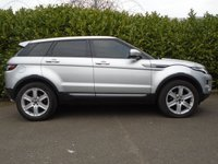 USED 2011 11 LAND ROVER RANGE ROVER EVOQUE 2.2 SD4 PURE TECH 5d AUTO 190 BHP PART EXCHANGE AVAILABLE / ALL CARDS / FINANCE AVAILABLE