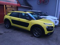"USED 2015 15 CITROEN C4 CACTUS 1.2 PURETECH FEEL 5d 80 BHP AIR CONDITIONING, BLUETOOTH, 16"" GRAPHITE GREY ALLOY WHEELS"