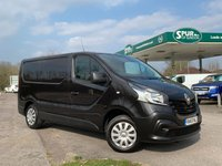 USED 2016 65 RENAULT TRAFIC 1.6 SL27 BUSINESS DCI S/R P/V 1d 115 BHP Only 33,000 Miles, One Owner, Finance Arranged.