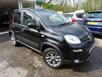 USED 2016 66 FIAT PANDA 0.9 TWINAIR 5d 4x4 85 BHP FOUR WHEEL DRIVE Full Service History, One Owner, MOT until December 2019, Four Wheel Drive, Balance of Fiat Warranty until December 2019, Great fuel economy! Only £30 Road Tax! 6 Speed Gearbox.