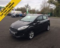 USED 2016 16 FORD FIESTA 1.0 ZETEC ECOBOOST AUTOMATIC (100PS) THIS VEHICLE IS AT SITE 1 - TO VIEW CALL US ON 01903 892224