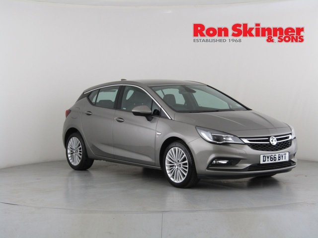 View our 2016 66 VAUXHALL ASTRA 1.4 ELITE NAV 5d 148 BHP