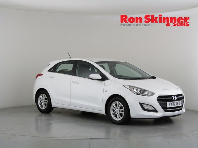 View our 2016 16 HYUNDAI I30 1.6 CRDI SE BLUE DRIVE 5d 109 BHP