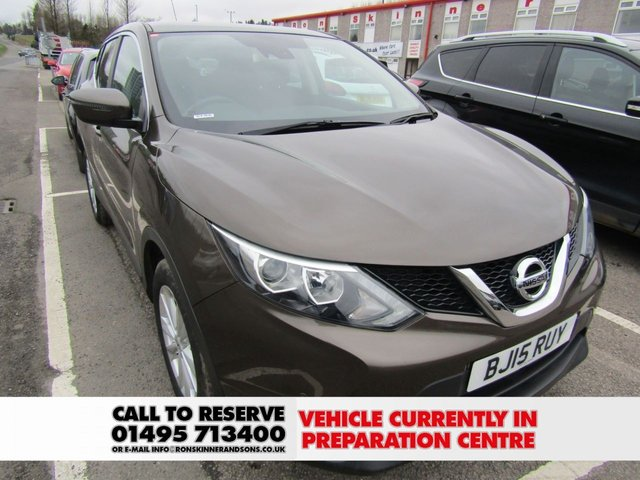 NISSAN QASHQAI at Ron Skinner and Sons