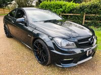 USED 2013 63 MERCEDES-BENZ C-CLASS 6.2 C63 AMG 2d AUTO 500 BHP
