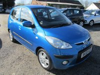 USED 2009 59 HYUNDAI I10 1.2 COMFORT 5DR FSH FULL SERVICE HISTORY £30TAX